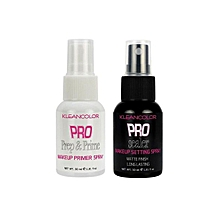 Pro Prep & Prime Makeup Primer Spray - 30ml + Pro Sealer Makeup Setting Spray - Matte Finish - 30ml