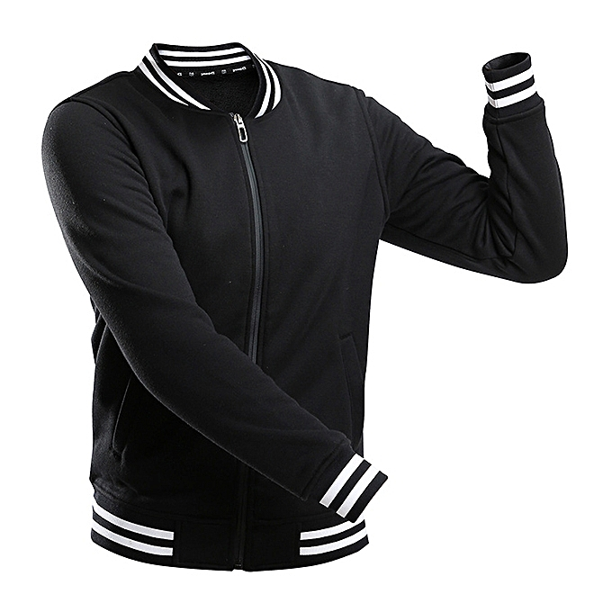 Fashion Casual Sport Zipper Fleece Liner Lovers Varsity Jacket 5