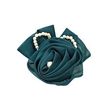 Green Hair Pin