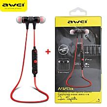 AWEI A920BLS Bluetooth Earphone A920BL Pro Wireless Headphone Sport Headset Auriculares Cordless Headphones Casque 10h Music JY-M