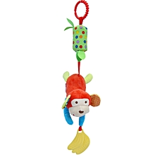 Infant Baby Rattle Toys, Kids Stroller Hanging Bell, Newborn Baby Car Crib Stroller Handbells Toys Cute Wind Chime