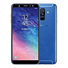 "Galaxy A6 Plus Infinity - 6"" - 64GB - 4GB RAM, 24MP Front, 16MP+5MP - Dual Camera (Dual SIM) 4G - Blue"