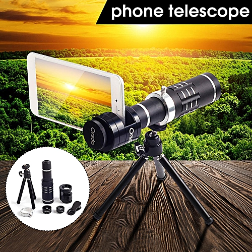 Generic Lx 187 Mobile Phone Telephoto Lens 18 Times Telescope Wide