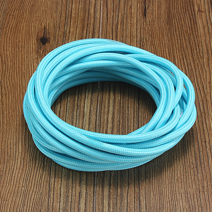 Generic 5m Electrical Wires 2 Cord 075cm Colorful Vintage Retro