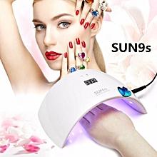 UV LED Nail Dryer 24W Professional UV LED Lamp Manicure Nail Dryer Lamp For Curing Nail Gel Polish Art Tools
