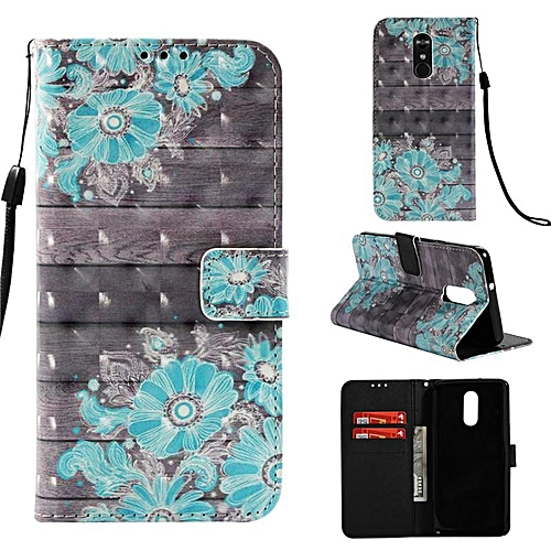 huge selection of 6cf4d cd051 PU Leather Wallet Case Cover for LG Stylo 4 / Q Stylus