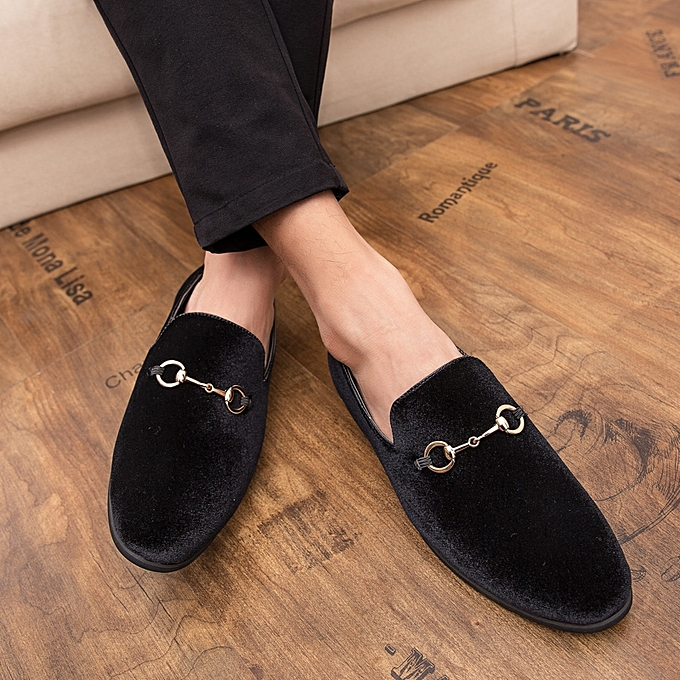 523de5f538af Men Shoes Suede Casual Loafers Vintage Wedding Shoes Plus Size Formal Shoes