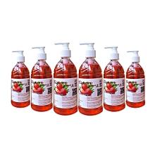 Liquid Handwash - 500 Millilitres (Strawberry) 6 Pieces