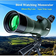 Zoom Telescope Monocular 20-60X With SLR Phone Accessories