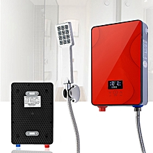6.5KW 220V Electric Tankless Water Heater Instant Hot Boiler Bathroom Shower Water Heating Tools