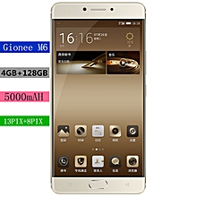 Gionee M6 Smart Phone 5.5 AMOLED 4G 4GB+64GB-128GB+wifi 5000MAh+Core Octet 1.8 GHz MT6755M
