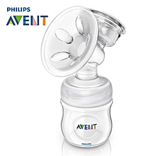 AVENT Comfort Single Electric Breast Pumps BPA Free Powerful Large Suction Breast Pump Breast Feeding Baby Feeding White