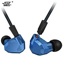 KZ ZS5 2DD+2BA Hybrid In Ear Earphone HIFI DJ Monito Running Sport Earphone Earplug Headset Earbud Without Mic  XBQ-A