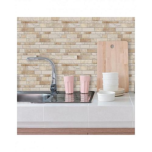 Kitchen Tiles Kenya: RoomMates Decor Neutral Long Stone StickTILES Peel & Stick