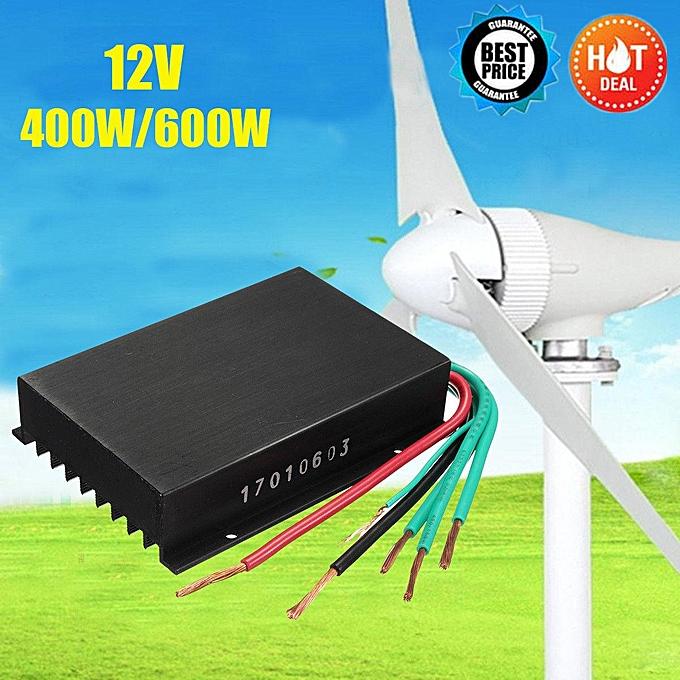 12V 400W 600W Hybrid Solar Wind Turbine Generator Charge Controller  Regulator
