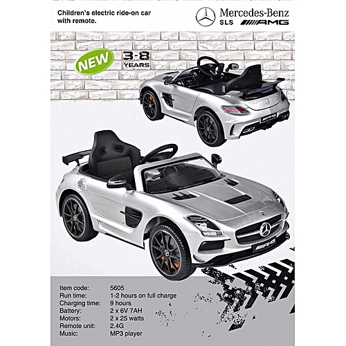 Generic Sls Amg Mercedes Benz Children Electric Ride On Car With Remote An Mp3 Player 3 8yrs