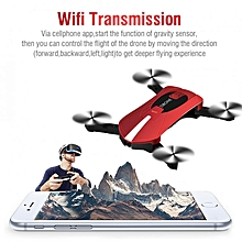 RC Folding Drone Quadcopter Wifi FPV Altitude Hold Remote Control Toy With HD Camera 0.3MP