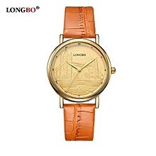 Luxury Fashion Men Ultra Thin Women Quartz Lovers' watch
