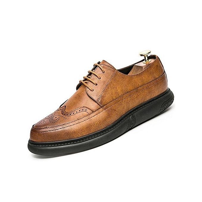 Fashion Genuine Leather Men Dress Shoes Men Formal Shoes Party