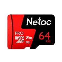 64GB Pro Micro SDXC TF Memory Card Data Storage V30/UHS-I U3 High Speed Up to 98MB/s