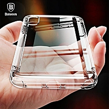 Baseus For iPhone XS Max XR Airbag Anti Knock Case Soft Silicone Transparent Protective Case (iPhone XS Max Transparent) FCJMALL