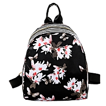 Women Girls Print Cute Preppy Style School Bag Travel Backpack Bag