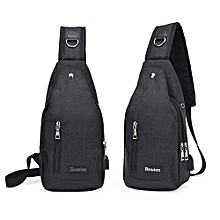 f9afb61a58dd Bags Men Cross Body Shoulder Bags Durable Practical Black Fashion Polyester  Fibre