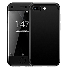 7S 1GB+8GB 2.5 inch Screen MTK6580 Quad Core up to 1.3GHz Dual SIM Smartphone(Black)