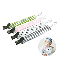 Baby Pacifier Clip, 4 Pack Pacifier Holders Modern Designs Premium Quality Teething Ring Holder For Boys/Girls