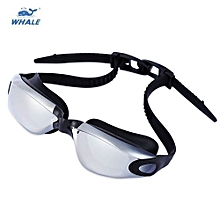 Water Resistant Silicone Eyeglasses Goggles With Box - Silver