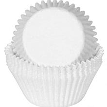 Cake Cup White Plain 5.5 CM X 2.2CM, Pack Of 1,000 pcs, Glassine Paper