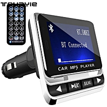 FM Transmitter, Tohayie Bluetooth Wireless Radio Adapter Audio Receiver Stereo Music Tuner Modulator Car Kit with USB Charger, Control LBQ