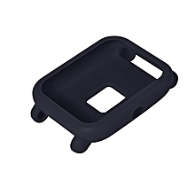 Soft Protective Case for Smartwatch Anti Scratch Silicone Cover Replacement dark blue