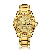 Fashion Causal Men Watches Quartz Male Watch 3ATM Water-resistant Luminous Wristwatch Calendar Time Display