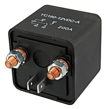 High Power Car Relay 12V 24V 200A for Large Motor Automobiale Refit