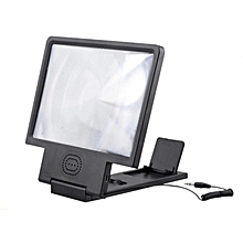 High Quality Bakeey 3D Eye Enlarged Screen Magnifier Phone Holder Protection HIFI Sound HD with USB Cable Speaker for Cell Phone MEGOSHOEP