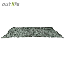 2 X 3M Woodland Camping Military Camouflage Net_ARMY GREEN