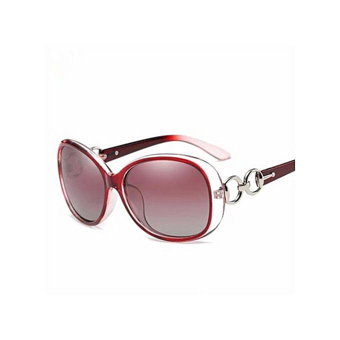 692d933a42592 Women s Driving Sun Glasses Polarized Mirror Lens Luxury Ladies Designer  Sunglasses Eyewear For Women(Red