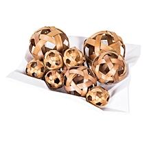 Winston Decoration - Hollow Ball Bag - Light Brown