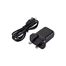 3-Pin Smart Charger - Black