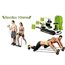 Home Total Body Fitness Gym Revoflex Xtreme Abs Trainer Resistance Exercise Abdominal Trainer Body Resistance Workout Training Tonning Machine Gym Exercise ABS