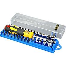 JAKEMY JM-6095 33 in 1 Repair Torx Screwdriver Screwdrivers Kit Set Precision Telecom Maintenance Tools