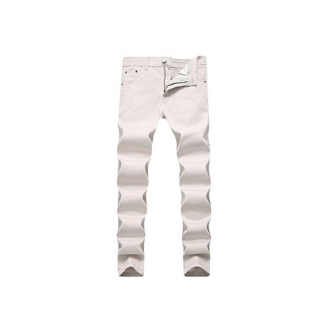1584832e 2017 Hot Sale Men Jeans Pencil Stretch Jeans Men Brand Casual Slim Fit Pants  Skinny Boys