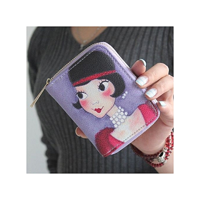 buy fashion korean style pu leather women wallet cute cartoon