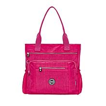 Women's Large Capacity Waterproof Nylon Handbag Shoulder Bag