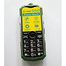 "S50 Mini - 1.77"" - Dual Sim- Slide Torch - Green"