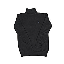 Men's Slim Fit Turtleneck Knitted Long Sleeve Pullover Sweater