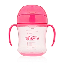 Soft Spout Transition Cup 180ml - Pink
