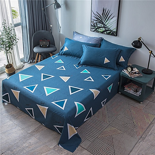 Cotton Bed Sheets Multiple Styles Available European American FSheet  European Minimalist With Home Textile Bedding(16)( 230x250cm)