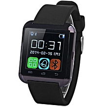 U8 - Smart Watch Bluetooth Tethering - Black